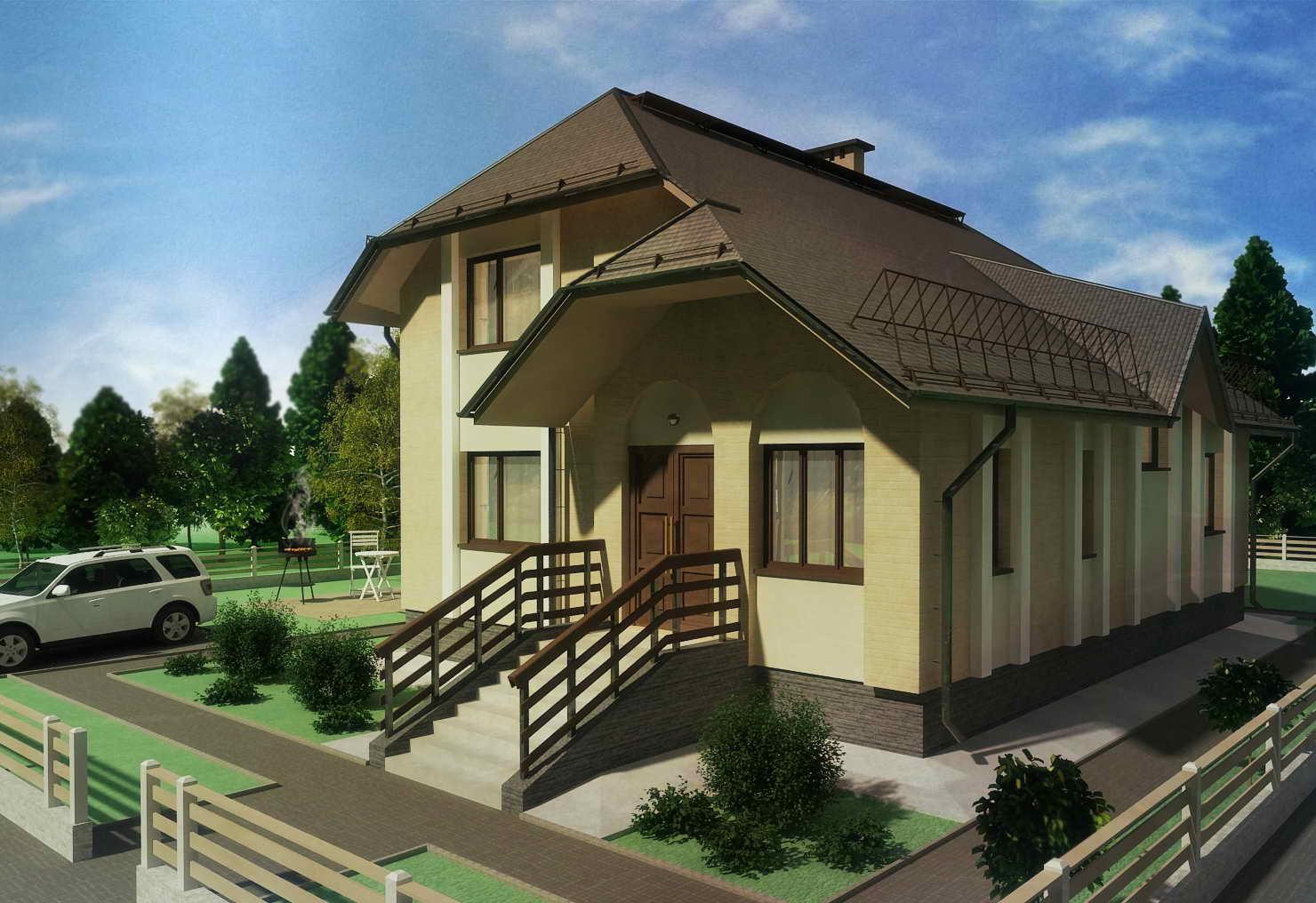 Проект дома Б.143-00-93.06