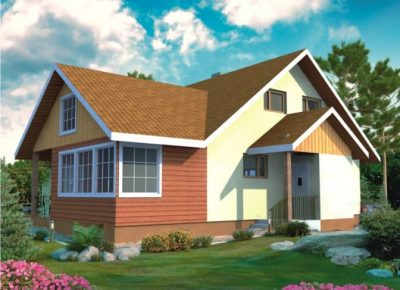 Проект дома Б.183-00-10.04