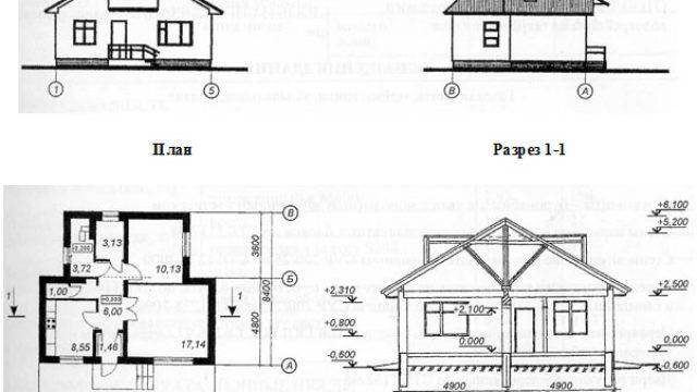 Проект дома Б.183-00-3.04