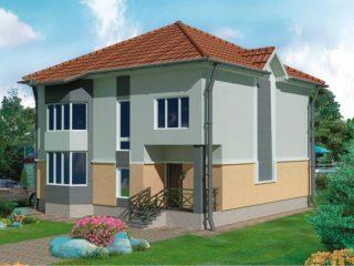 Проект дома Б.183-00-110.08