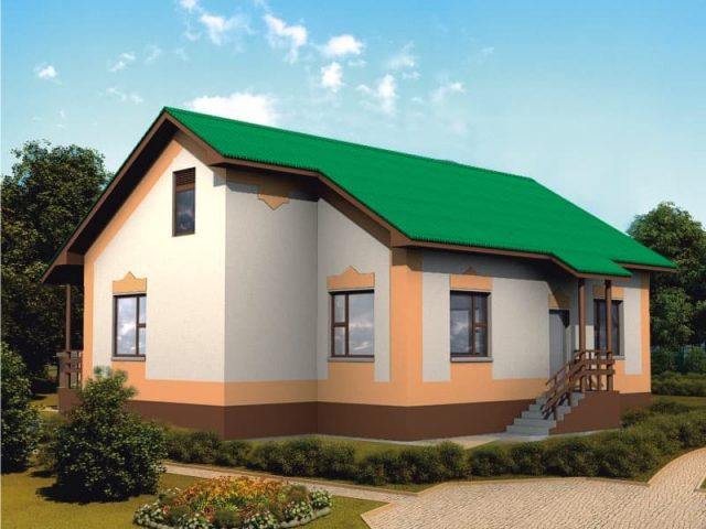 Проект дома Б.183-00-108.08