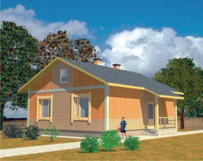 Проект дома Б.186-00-35.04