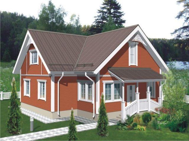 Проект дома Б.186-00-72.05