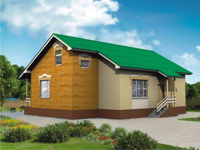 Проект дома Б.188-00-109.08
