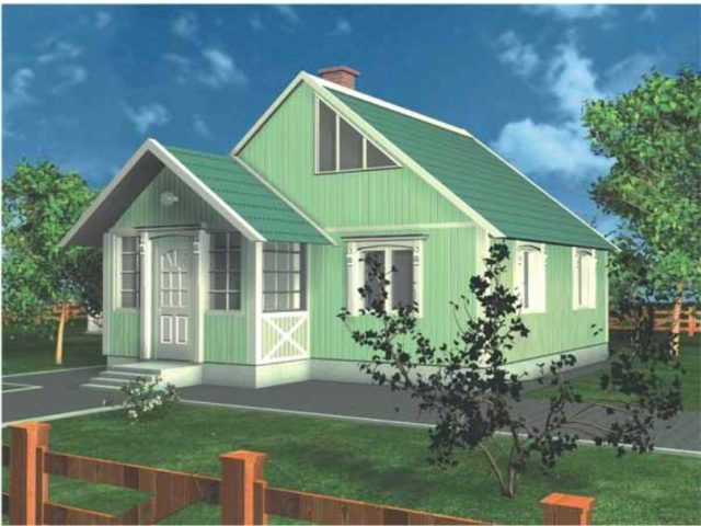 Проект дома Б.186-00-63.05