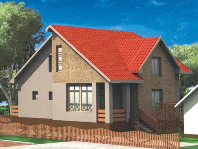 Проект дома Б.183-00-55.05
