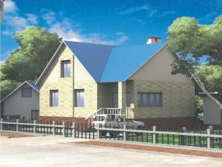 Проект дома  Б.186-00-71.05