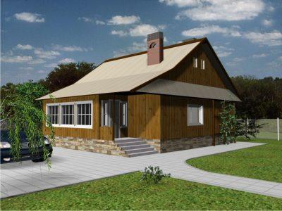 Проект дома Б.186-00-77.06