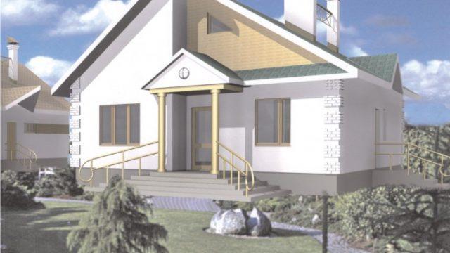 Проект дома Б.183-00-52.05