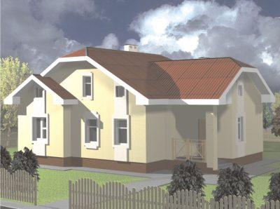 Проект дома Б.183-00-59.05