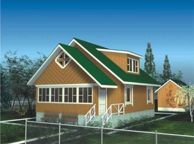 Проект дома Б.186-00-65.05