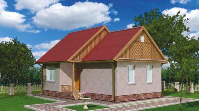 Проект дома Б.186-00-17.04