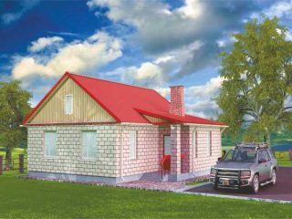 Проект дома Б.181-00-36.04