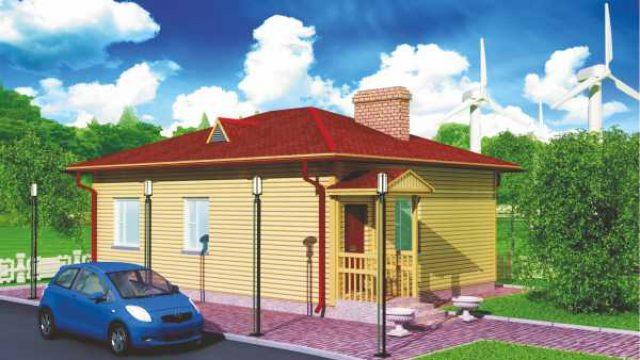 Проект дома Б.181-00-41.04