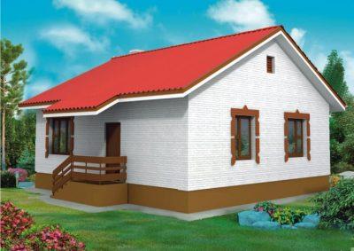 Проект дома Б.183-00-5.04