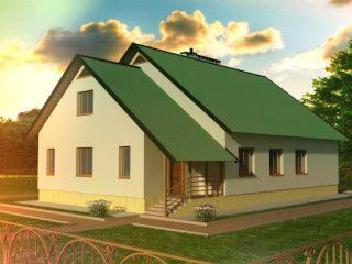 Проект дома Б.183.00-107.07