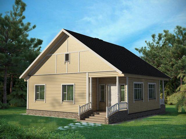 Проект дома Б.186-00-84.06