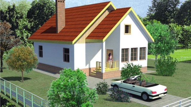 Проект дома Б.183-00-34.04 (Вариант 1)