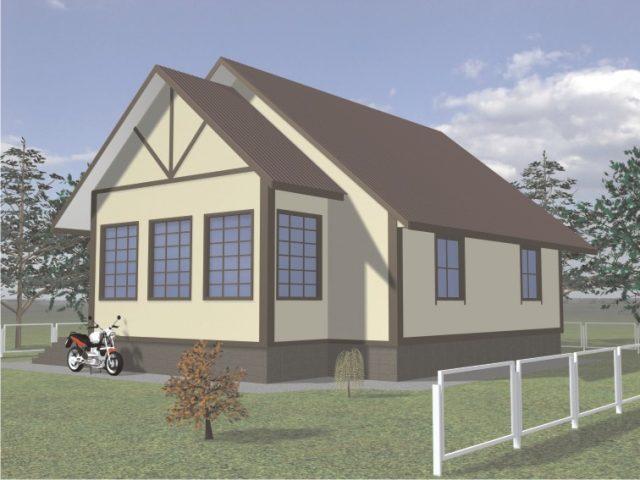 Проект дома Б.181-00-66.05