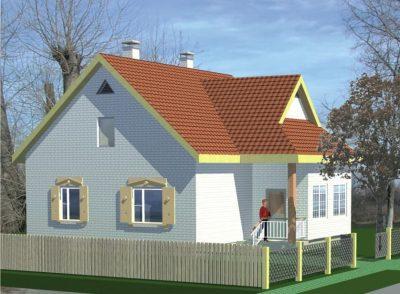 Проект дома Б.183-00-69.05